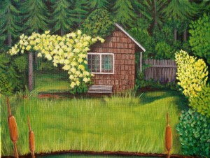 'Cabin in the Glen' by Betsy Fairbrother