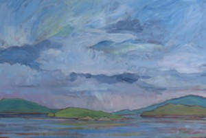 'Looking South to Ruxton Island' by Bruce Dolsen