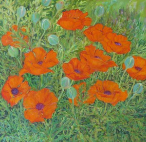 'Poppies #1' by Bruce Dolsen