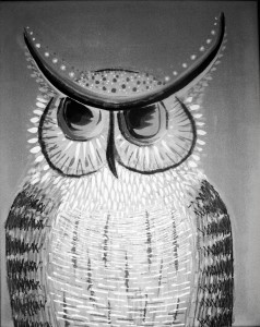 'Grand Owl' by Francine Renaud