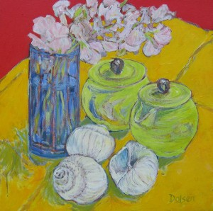 'Still Life with Moon Snails' by Bruce Dolsen