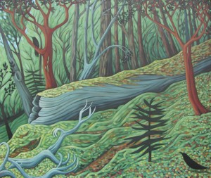 'Deep in the Woods' by Susie Fairbrothe