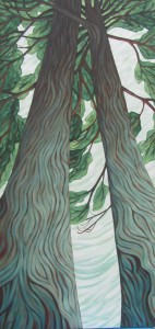 'Two Trees' by Susie Fairbrother