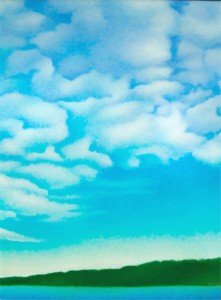 'Uplifting Clouds' by Anne Popperwel