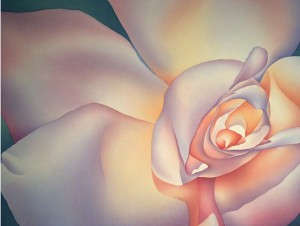 Artsia Winged Rose by Anne Popperwell