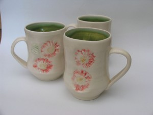 Two Mugs by Laurie MacCallum
