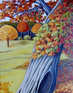 Autumn Colour, by Betsy Fairbrother