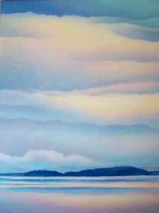 Island Sky by Anne Popperwell